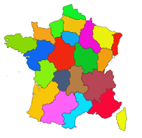carte de france des camping Camping France : Directory of campsite in camping France